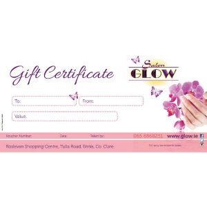 Salon Glow Gift Voucher